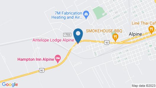 Antelope Lodge Map