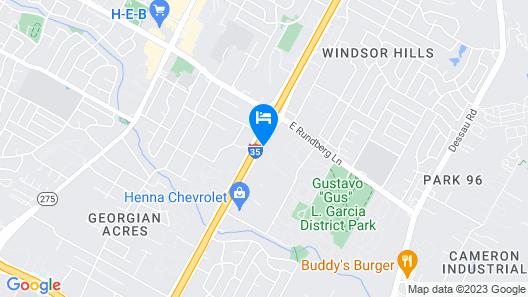 Orangewood Inn & Suites Midtown Map