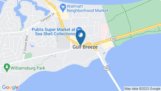 Gulf Coast Inn Map