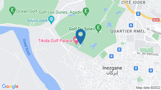 Tikida Golf Palace - Relais & Châteaux Map