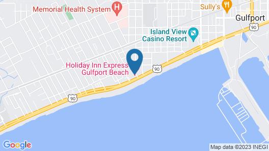 Holiday Inn Express Gulfport Beach, an IHG Hotel Map