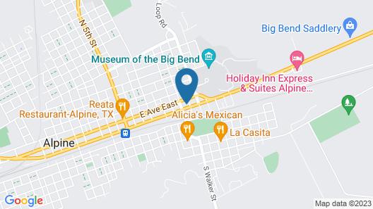 OYO Hotel Alpine TX near University Map