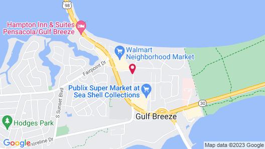 Holiday Inn Express & Suites Gulf Breeze Pensacola Area, an IHG Hotel Map