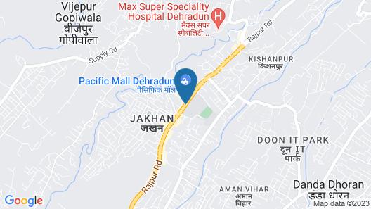 Four Points by Sheraton Dehradun Map
