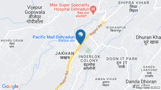 Lemon Tree Hotel, Dehradun Map