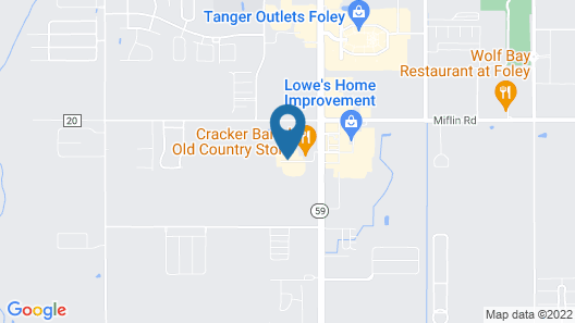Holiday Inn Express & Suites Foley, an IHG Hotel Map
