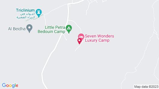 Seven Wonders Luxury Camp Map