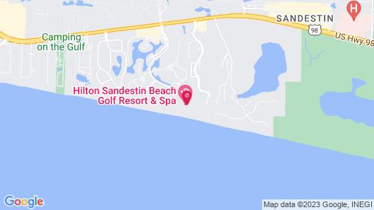 Hilton Sandestin Beach Golf Resort & Spa Map