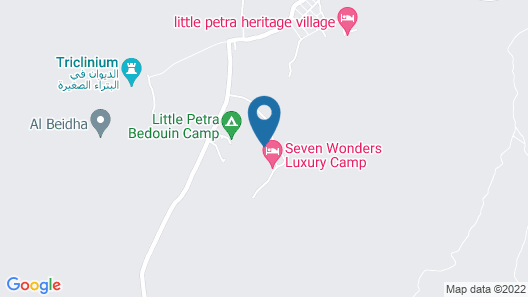 Petra Mars Camp Happy Hours Map