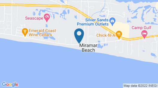 Alerio by Bliss Beach Rentals Map