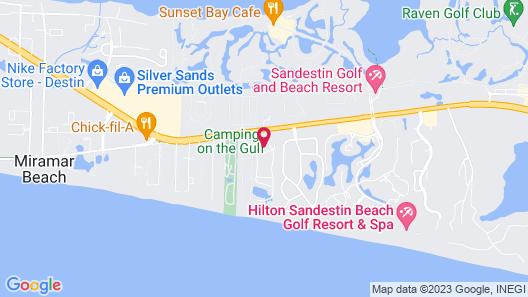 Hidden Dunes Condominiums Map