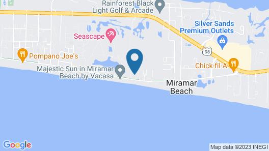 Surfside Beach Resort by Counts-Oakes Resort Properties Map