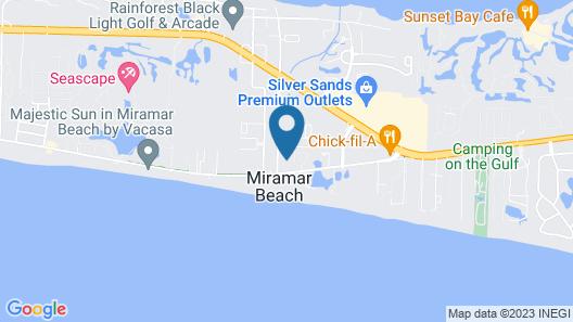 Embassy Suites Hotel Destin Miramar Beach Map