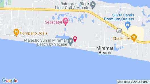 Club Wyndham Majestic Sun Map