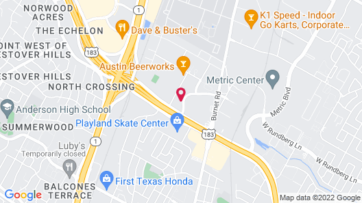 Extended Stay America Suites Austin Arboretum South Map