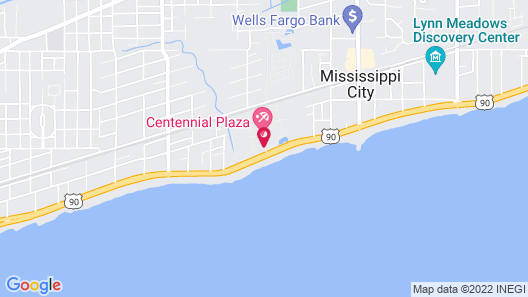 Oasis Resort Gulfport Map