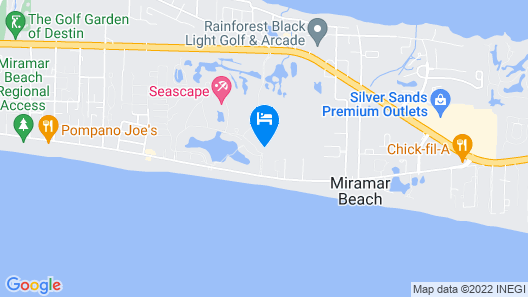 Ariel Dunes by Seascape Resort Map