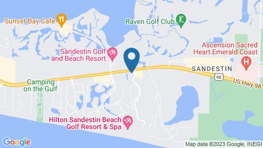 Tops'l Beach & Racquet Resort by Vacasa Map