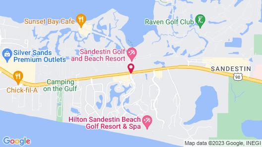 Hotel Effie Sandestin Map