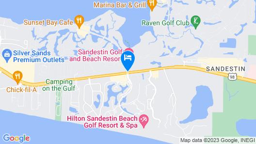 Sandestin Golf and Beach Resort Map