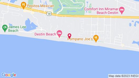 Gulf Sands West Unit 5 - Miramar Beach Map