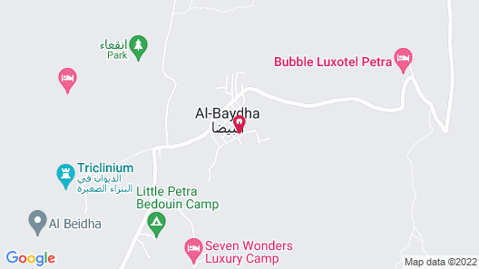 Bedouin Pink EcoHouse Map