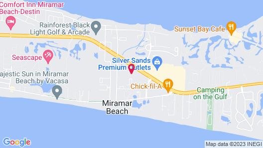 Hampton Inn & Suites Destin-Sandestin Area Map