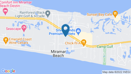 Hampton Inn & Suites Destin-Sandestin Area Map