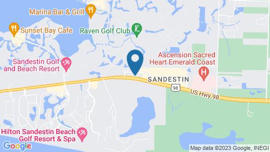 Residence Inn by Marriott Sandestin at Grand Boulevard Map