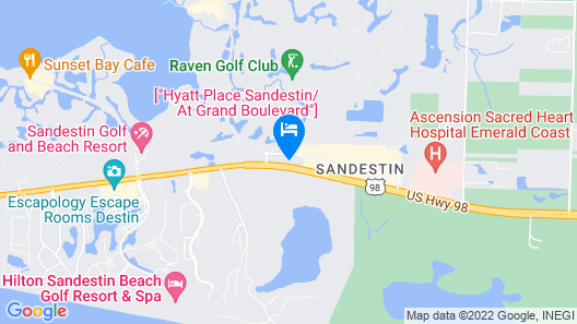 Residence Inn by Marriott Sandestin at Grand Boulevard Map