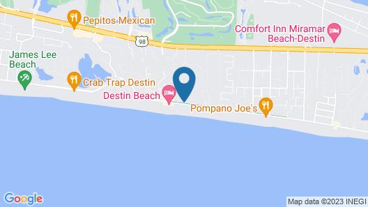 Hilton Garden Inn Destin Miramar Beach Map