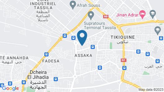 Jawaher Aguerd Map