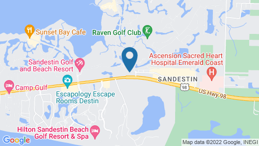 Courtyard by Marriott Sandestin Grand Boulevard Map