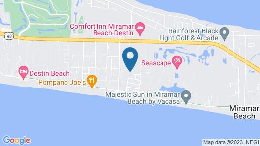 Rodgers Beach Retreat Map