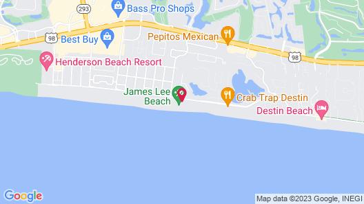 Cabana Club Penthouse C408 4 Bedroom Condo Map