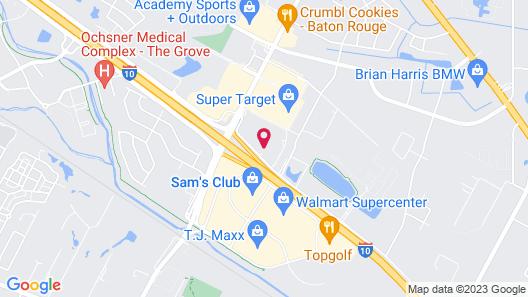 Trident Inn & Suites Map