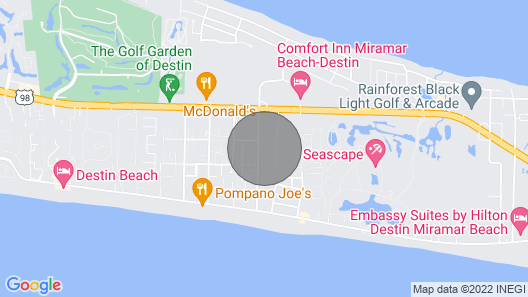 Luxury Beach Home in Gated Community Includes Beach Equipment! Map