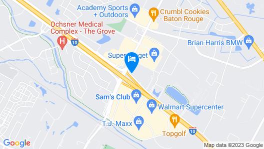 La Quinta Inn & Suites by Wyndham Baton Rouge Siegen Lane Map