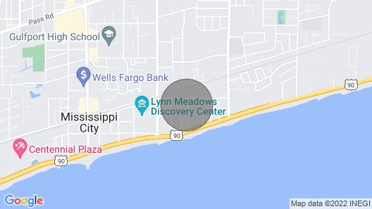 Tiny House By The Beach Map