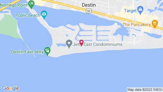 Holiday Surf and Racquet Club Map