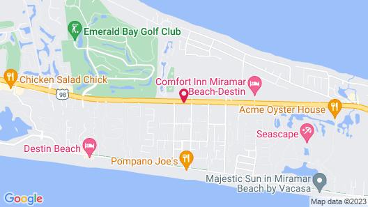 La Quinta Inn & Suites by Wyndham Miramar Beach-Destin Map