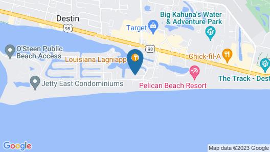 Sandpiper Cove 1229 Destin Map