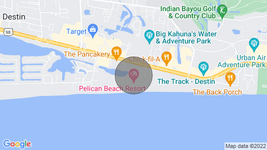 Pelican Upgraded 11th flr 1 bedroom -on the beach- Map