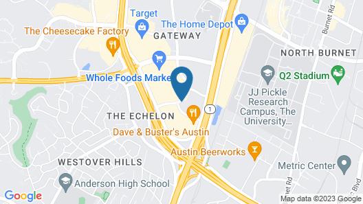 Embassy Suites Austin-Arboretum Map