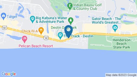 SummerPlace Inn Destin Map