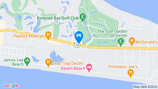 Extended Stay America Destin - US 98 - Emerald Coast Pkwy Map