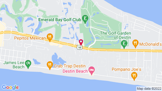 Extended Stay America Suites Destin US 98 Emerald Coast Pkwy Map