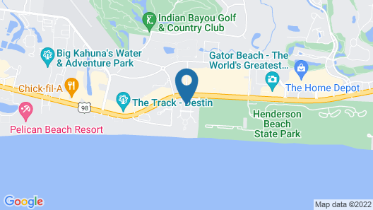 Silver Shells Beach Resort & Spa Map