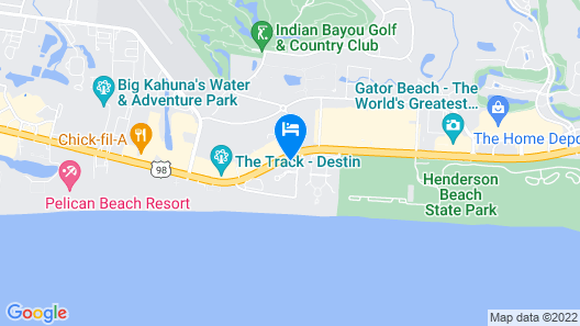 Home2 Suites By Hilton Destin Map