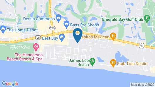 New Listing! #bestvacationever: Beachside Getaway 4 Bedroom Home Map